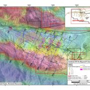 Sugarloaf Peak RTP Air Mag and IP Chargeability Map